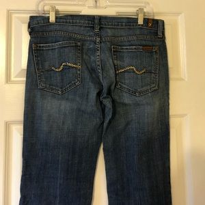 7 For All Mankind Dark Bootcut Jeans 29